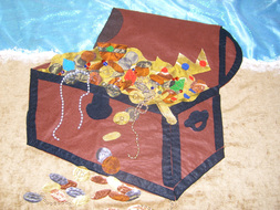 Treasure chest detail