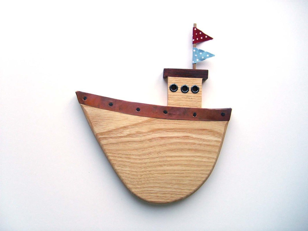 Fishing Boat 3 Wall Hanging