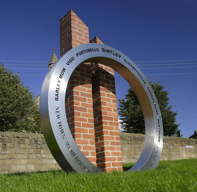 Birtley Sculpture - Wheel of Time