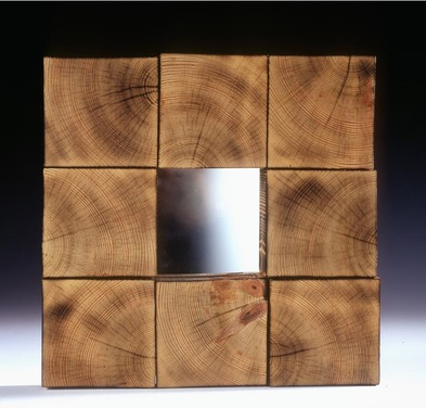 End Grain Mirror