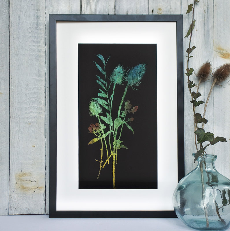 Fiona Gray framed Autumn No.2 print