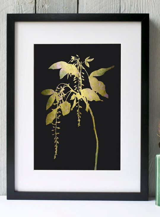 Fiona Gray - Yellow laburnum print
