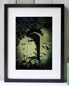 Secret Garden print by Fiona Gray