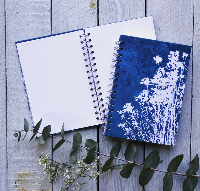 Fiona Gray Notebook design 'Wild Flowers No.1'